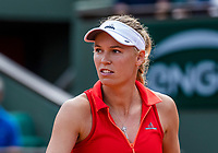 Paris, France, 4 June, 2017, Tennis, French Open, Roland Garros, Caroline Wozniacki (DEN)<br /> Photo: Henk Koster/tennisimages.com