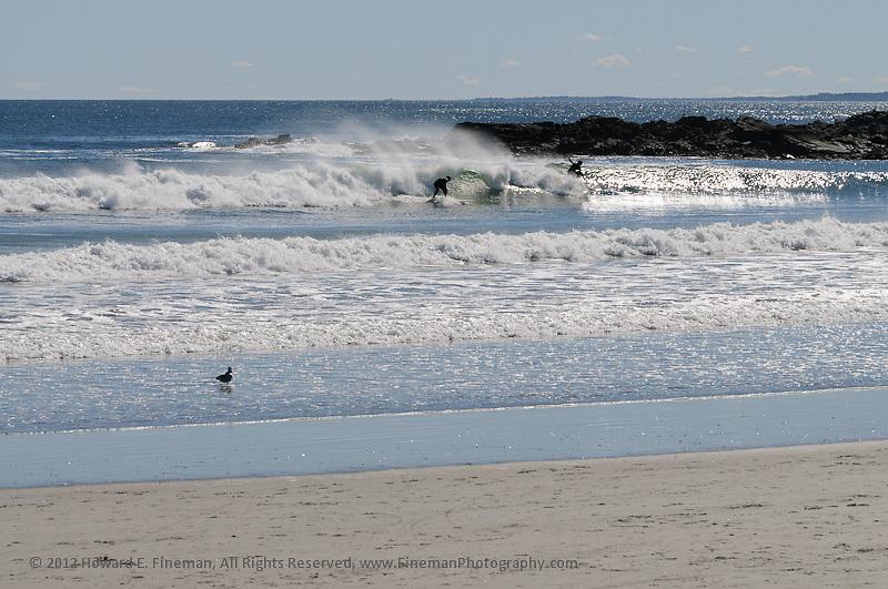 Surfers, Kennebunk, 2012