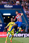 Stefan Savic of Atletico de Madrid during the La Liga match between Atletico de Madrid vs Villarreal CF at the Estadio Vicente Calderon on 25 April 2017 in Madrid, Spain. Photo by Diego Gonzalez Souto / Power Sport Images