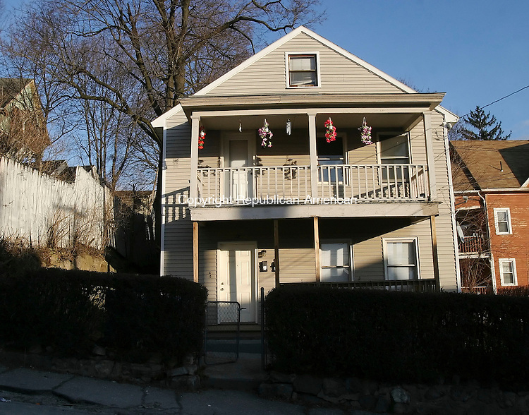 WATERBURY, CT 01/04/08-010408BZ01- The assessment of this house at 72 Orange St. in Waterbury went up 160 percent during the recent revaluation.<br /> Jamison C. Bazinet Republican-American