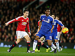 Ander Herrera of Manchester United has shot on goal - English Premier League - Manchester Utd vs Chelsea - Old Trafford Stadium - Manchester - England - 28th December 2015 - Picture Simon Bellis/Sportimage