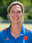 AMSTELVEEN - Manager FEMKE KOOIJMAN , Nederlands team dames op weg naar de HWL. COPYRIGHT KOEN SUYK