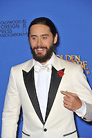Jared Leto at the 72nd Annual Golden Globe Awards at the Beverly Hilton Hotel, Beverly Hills.<br /> January 11, 2015  Beverly Hills, CA<br /> Picture: Paul Smith / Featureflash