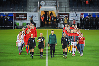 20191112 - LEUVEN , BELGIUM : Illustration picture before the female soccer game between the Belgian Red Flames and Lithuania , the fourth womensoccer game for Belgium in the qualification for the European Championship round in group H for England 2021, Tuesday 12 th November 2019 at the King Power Stadion Den Dreef in Leuven , Belgium. PHOTO SPORTPIX.BE | STIJN AUDOOREN