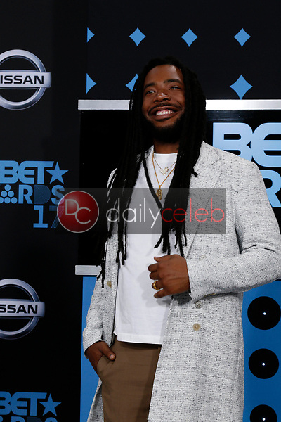 DRAM<br /> at the BET Awards 2017, Microsoft Theater, Los Angeles, CA 06-25-17<br /> David Edwards/DailyCeleb.com 818-249-4998