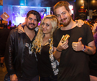 Chris Sanchez, Jamie Leffler and Robert Cepeda attend the Sunset Strip Music Festival 2014 - Los Angeles, CA on September 20-21, 2014 (Photo by Dave Rosenblum/ Guest of a Guest)