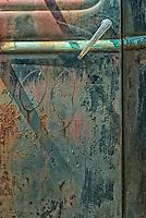 Door of old car