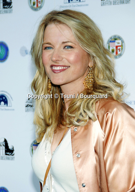 Lucy Lawless arriving at GRIFFITH OBSERVATORY Re-Opening in Los Angeles.<br /> <br /> headshot<br /> smile<br /> eye contact