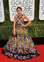 Olivia Culpo at the 74th Golden Globe Awards  at The Beverly Hilton Hotel, Los Angeles USA 8th January  2017<br /> Picture: Paul Smith/Featureflash/SilverHub 0208 004 5359 sales@silverhubmedia.com