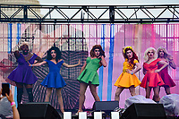 Washington, DC - June 9, 2019: Drag performers House of Stone performs at the Capital Pride concert in Washington, DC June 9, 2019. (Photo by Don Baxter/Media Images International)