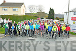 Over 170 cyclists left the Dr Crokes field on Lewis Road for the start of the IHCPT fun cycle on Monday morning.........