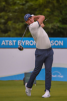 Brooks Koepka (USA) watches his tee shot on 14 during the round 1 of the AT&amp;T Byron Nelson, Trinity Forest Golf Club, Dallas, Texas, USA. 5/9/2019.<br /> Picture: Golffile | Ken Murray<br /> <br /> <br /> All photo usage must carry mandatory copyright credit (&copy; Golffile | Ken Murray)