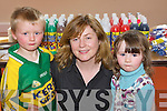 2696-2699..Craft Fair - Having a wonderful time at the Arty-Bits Craft Fair held in The Oakview Village Childcare Centre on Saturday were l/r Conor Kirby, Marian Kirby and Caoimhe Cotter................................................................. ........................   Copyright Kerry's Eye 2008