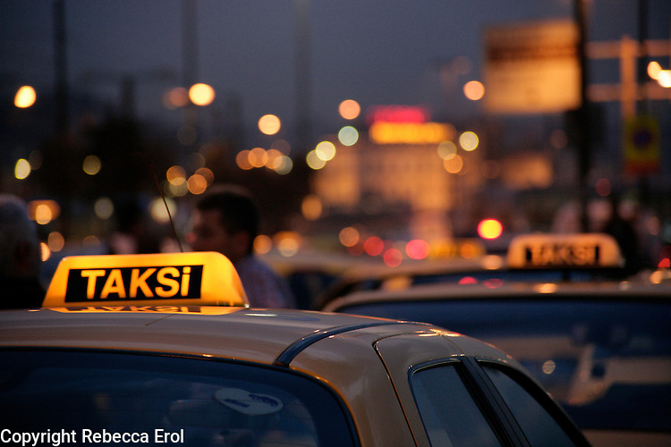 Taxis, Istanbul, Turkey