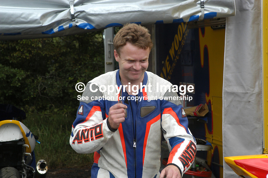 Trevor Keyes, Banbridge, N Ireland, UK, rider, Ulster Grand Prix, practice,200208150414...Copyright Image from Victor Patterson, 54 Dorchester Park, Belfast, UK, BT9 6RJ..Tel: +44 28 9066 1296.Mob: +44 7802 353836.Voicemail +44 20 8816 7153.Skype: victorpattersonbelfast.Email: victorpatterson@mac.com.Email: victorpatterson@ireland.com (back-up)..IMPORTANT: If you wish to use this image or any other of my images please go to www.victorpatterson.com and click on the Terms & Conditions. Then contact me by email or phone with the reference number(s) of the image(s) concerned.