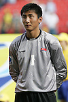 06 July 2007: North Korea's Kwang Min Ju, pregame. Argentina's Under-20 Men's National Team defeated North Korea's Under-20 Men's National Team 1-0 in a Group E opening round match at Frank Clair Stadium in Ottawa, Ontario, Canada during the FIFA U-20 World Cup Canada 2007 tournament.