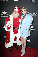 LOS ANGELES - NOV 18:  Santa Claus, Daya at the Grove Christmas Tree Lighting at the Grove on November 18, 2018 in Los Angeles, CA