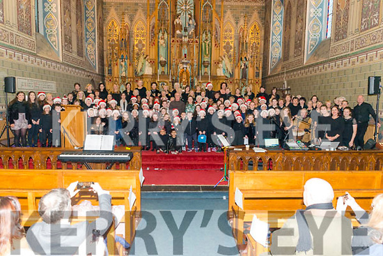 Kingdom Gospel Choirs charity concert in aid of MS Ireland at the Killarney Friary last Sunday evening.