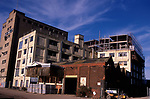 A3A8M7 Former factory being converted for loft apartments Ipswich Wet Dock. Image shot 2006. Exact date unknown.