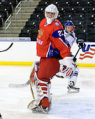 Igor Bobkov (Russia - 29) - Russia defeated Finland 4-0 at the Urban Plains Center in Fargo, North Dakota, on Friday, April 17, 2009, in their semi-final match during the 2009 World Under 18 Championship.