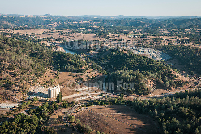 Ruins and quarry of the Calavaras Cement Company near San Andreas, Calaveras County, Calif.