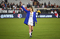 JACKSONVILLE, FL - NOVEMBER 10: Morgan Brian #6 of the United States celebrates during a game between Costa Rica and USWNT at TIAA Bank Field on November 10, 2019 in Jacksonville, Florida.