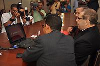 Acto de Lanzamiento de acento.Lugar:Universidad Catolica Madre y Maestra.Foto:Carmen Suarez.Fecha:16/2/2011.