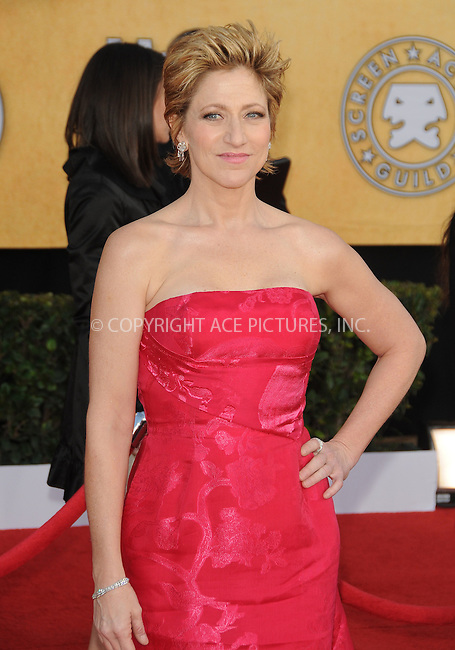 WWW.ACEPIXS.COM . . . . . ....January 30 2011, Los Angeles....Edie Falco arriving at the 17th Annual Screen Actors Guild Awards held at The Shrine Auditorium on January 30, 2011 in Los Angeles, CA....Please byline: PETER WEST - ACEPIXS.COM....Ace Pictures, Inc:  ..(212) 243-8787 or (646) 679 0430..e-mail: picturedesk@acepixs.com..web: http://www.acepixs.com