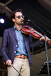 Andrew Bird performs during the New Orleans Jazz & Heritage Festival in New Orleans, LA.