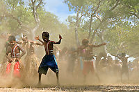 Lockhart River Dancers 2,  Laura Aboriginal Dance Festival, Laura, Cape York Peninsula, Queensland, Australia.