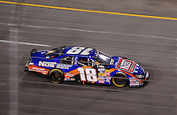 May 1, 2009; Richmond, VA, USA; NASCAR Nationwide Series driver Kyle Busch during the Lipton Tea 250 at the Richmond International Raceway. Mandatory Credit: Mark J. Rebilas-