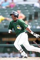 August 9, 2009: Isaies Ascencio of the South Bend Silver Hawks at Covelski Stadium in South Bend, IN. The Silver Hawks are the Low class affiliate of the Arizona Diamondbacks  Photo by: Chris Proctor/Four Seam Images
