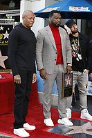 LOS ANGELES - JAN 30:  Dr Dre, Curtis Jackson, 50 Cent, Eminem, Marshall Bruce Mathers III at the 50 Cent Star Ceremony on the Hollywood Walk of Fame on January 30, 2019 in Los Angeles, CA