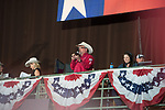 Announcer during second round of the Fort Worth Stockyards Pro Rodeo event in Fort Worth, TX - 8.3.2019 Photo by Christopher Thompson