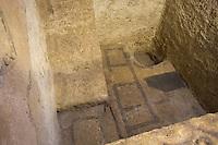 Asie/Israël/Galilée/Nazareth: Basilique de l'Annonciation vestiges de l'église inférieure