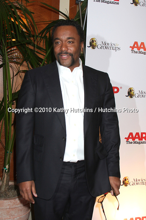 Lee Daniels.arriving at the Ninth Annual AARP the Magazine`s Movies for Grownups Awards Gala .Beverly Wilshire Hotel.Beverly Hills, CA.February 16, 2010.©2010 Kathy Hutchins / Hutchins Photo....