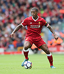 Liverpool's Georginio Wijnaldum in action during the premier league match at the Anfield Stadium, Liverpool. Picture date 19th August 2017. Picture credit should read: David Klein/Sportimage