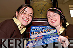 Time for change: Katie Neill and Aoife O'Neill, students of Listowel Presentation Secondary School attending the mental health awareness day in the Listowel Arms Hotel on Tuesday.