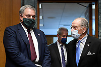 Internal Revenue Service Commissioner Charles Rettig, left, arrives with United States Senator Chuck Grassley (Republican of Iowa), Chairman, US Senate Committee on Finance, right, for a Senate Finance Committee hearing on Capitol Hill in Washington, Tuesday, June 30, 2020, on the 2020 filing season and COVID-19 recovery. <br /> Credit: Susan Walsh / Pool via CNP /MediaPunch