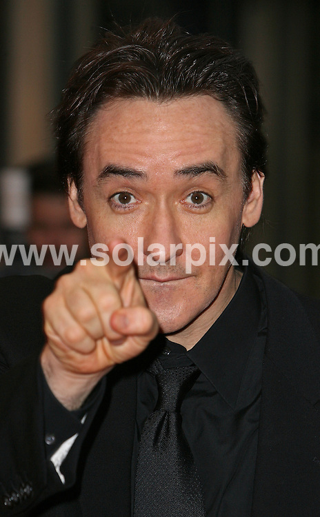 **ALL ROUND PICTURES FROM SOLARPIX.COM**.**WORLDWIDE SYNDICATION RIGHTS**.John Cusack attends the Premiere of 'Grace is gone' at the Odeon Leicester Square in the west end of London today..JOB REF:5195-SSD     DATE:26_10_07.**MUST CREDIT SOLARPIX.COM OR DOUBLE FEE WILL BE CHARGED* *UNDER NO CIRCUMSTANCES IS THIS IMAGE TO BE REPRODUCED FOR ANY ONLINE EDITION WITHOUT PRIOR PERMISSION*