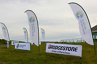 Signage during practice day for the Flogas Irish Amateur Open Championship 2019 at the Co.Sligo Golf Club, Rosses Point, Sligo, Ireland. 15/05/19<br /> <br /> Picture: Thos Caffrey / Golffile<br /> <br /> All photos usage must carry mandatory copyright credit (© Golffile | Thos Caffrey)