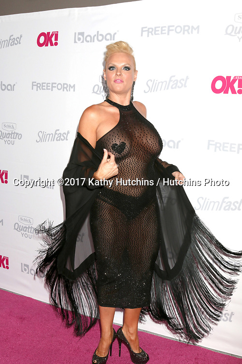 LOS ANGELES - MAY 17:  Emily Moses at the OK! Magazine Summer Kick-Off Party at the W Hollywood Hotel on May 17, 2017 in Los Angeles, CA