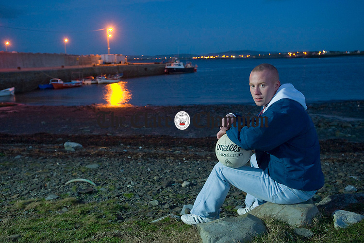 Kilmurry Ibrickanes Michael Hogan photographed at Seafield, Quilty. Photograph by John Kelly.