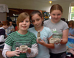 Taking part in  the Nagle Rice School Milltown  day of art, music and pottery on Friday were Dearbhail O'Connor, Kerrie O'Dea and Maire Twiss.<br />Picture: Eamonn Keogh (MacMonagle, Killarney)
