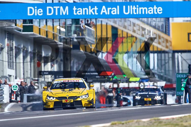 # 16 Timo Glock auf BMW M4 DTM vom BMW Team MTEK  bei der DTM Nuerburgring.<br /> <br /> Foto &copy; PIX-Sportfotos *** Foto ist honorarpflichtig! *** Auf Anfrage in hoeherer Qualitaet/Aufloesung. Belegexemplar erbeten. Veroeffentlichung ausschliesslich fuer journalistisch-publizistische Zwecke. For editorial use only.