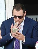 Silvio Berlusconi a Napoli per sostenere ila campagma elettorale di Gianni Lettieri , candidato a Sindaco per il Centrodestra <br /> nella foto Armando Cesaro