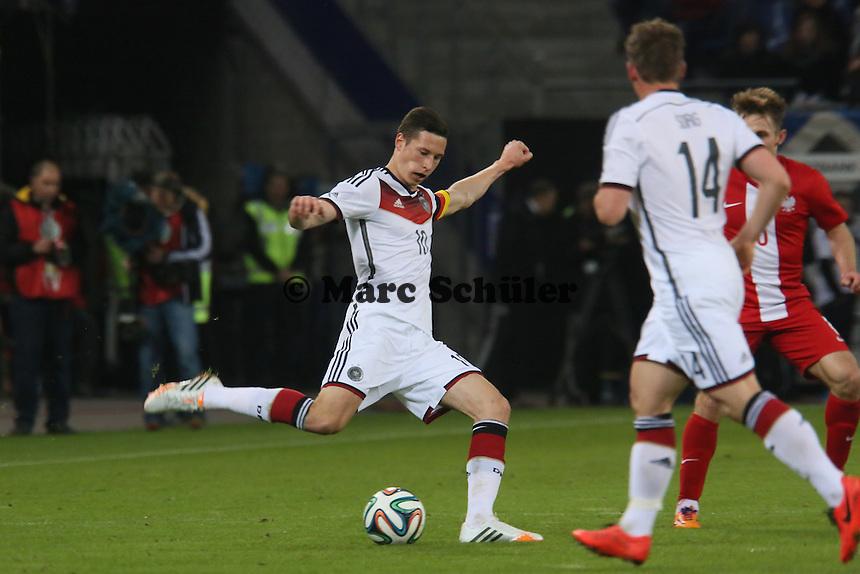 Julian Draxler (D) - Deutschland vs. Polen, WM-Vorbereitung Testspiel, Imtech Arena Hamburg