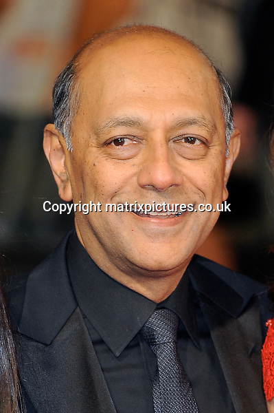 NON EXCLUSIVE PICTURE: PAUL TREADWAY / MATRIXPICTURES.CO.UK<br /> PLEASE CREDIT ALL USES<br /> <br /> WORLD RIGHTS<br /> <br /> South African film producer Anant Singh attends the Royal film performance of &quot;Mandela: Long Walk to Freedom&quot; at the Odeon Theatre at Leicester Square in London, England.<br /> <br /> DECEMBER 5th 2013<br /> <br /> REF: PTY 137771