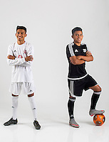 NWA Democrat-Gazette/JASON IVESTER<br /> Springdale's Leo Araujo (left) (player of the year) and Springdale's Jose Vega (newcomer of the year); photographed on Monday, May 23, 2016, in the Springdale studio