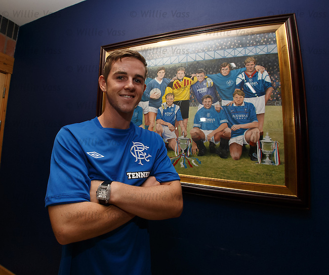 David Templeton signs for Rangers